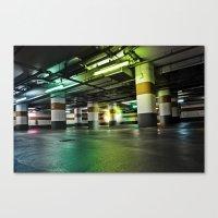 Parking Garage Canvas Print