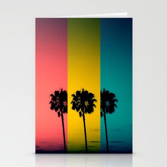 Vintage Palm Tree Stationery Card