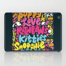 PUPPY LOVE, RAINBOWS, KI… iPad Case