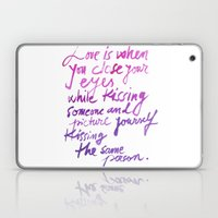Love Quotes Laptop & iPad Skin