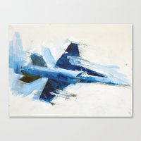 F18 Canvas Print
