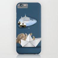 iPhone & iPod Case featuring I Want To Be A Captain by Aleksandra Mikolajczak