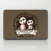 Save Kodamas V2 iPad Case