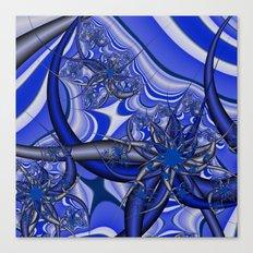 Splash of Blue Canvas Print