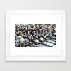 And the longer you linger, the linger you long. 13 Framed Art Print