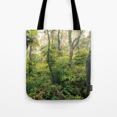 Hawaiian Rain Forest Tote Bag