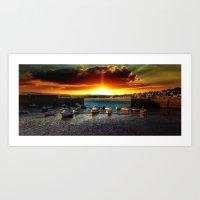 Marazion Cornwall Art Print