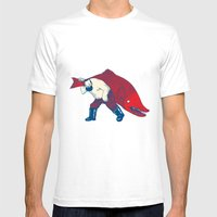 Big Fish Mens Fitted Tee White SMALL