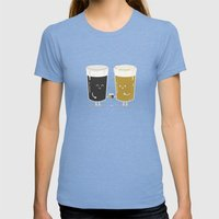Cheers! Womens Fitted Tee Tri-Blue SMALL