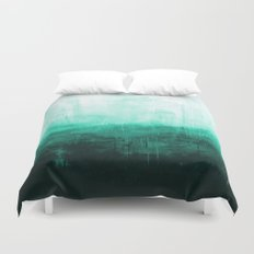Paint 8 abstract minimal modern water ocean wave painting must have canvas affordable fine art Duvet Cover
