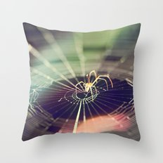 One day at the time Throw Pillow