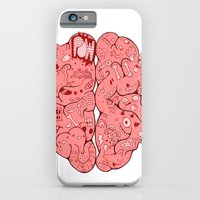 iPhone & iPod Case featuring Thought Process by derekpants