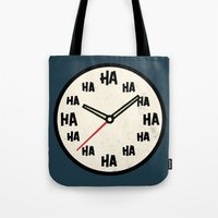 The Laughing Clock Tote Bag