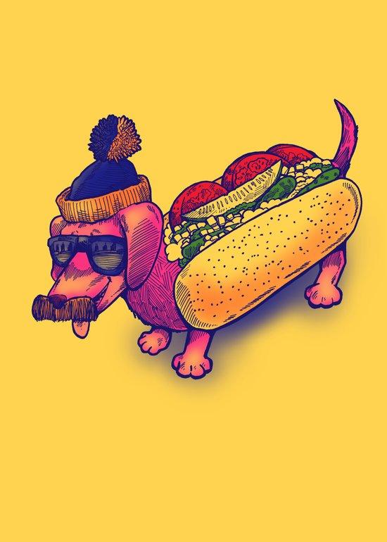 Chicago Dog Canvas Print
