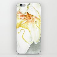 White Orchid iPhone & iPod Skin