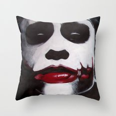 THE JOKER'S HIGHWAY Throw Pillow