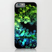 iPhone & iPod Case featuring Cellular Automata by Simbiotek