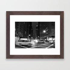 Avenue of the Americas Framed Art Print