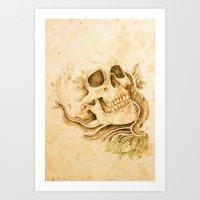 Skull4 Art Print