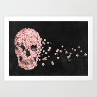 A Beautiful Death  Art Print