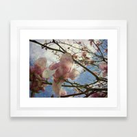 Hanging By A Moment Textured Framed Art Print