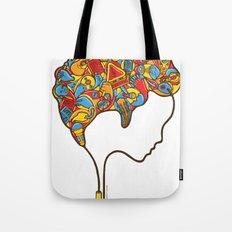 Musical Mind Tote Bag