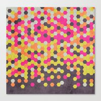 Honeycomb | Abyss Canvas Print