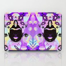 Holographic Girl iPad Case