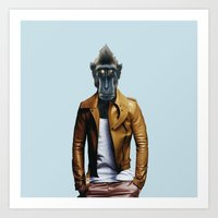 Monsieur Renan Art Print
