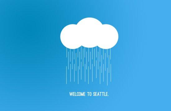 Simplistic Seattle  Art Print
