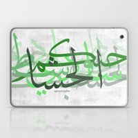calligraphy Laptop & iPad Skin