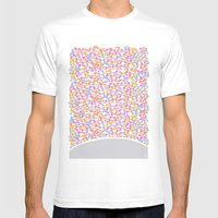 Traffic Jam Mens Fitted Tee White SMALL