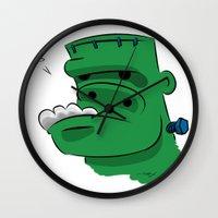Frankenderp Wall Clock