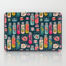 Vintage Thermos - Teacups and Teapots by Andrea Lauren iPad Case