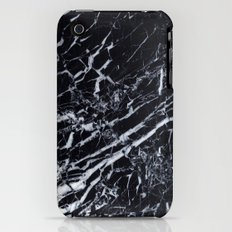 Real Marble Black iPhone (3g, 3gs) Slim Case