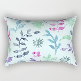 Rectangular Pillow - Seamless Flower Pattern - KAPS Studio