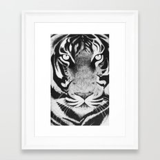 Be a Tiger Framed Art Print