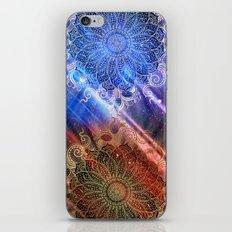Mandala - Mighty fire & ice iPhone & iPod Skin