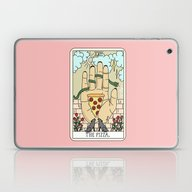 Laptop & iPad Skin featuring PIZZA READING by Sagepizza