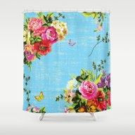 Sweet Perfume Shower Curtain