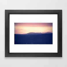 Going to rise up, find my direction magnetically Framed Art Print