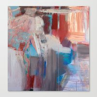 Abstract in Rust Canvas Print