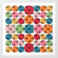 Pattern18 Art Print