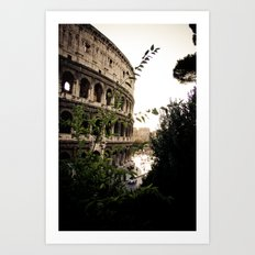the collosseum Art Print