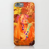 iPhone & iPod Case featuring spaceflowerss by Jen Lin Aliaga