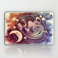 The Moon And The (Rock)S… Laptop & iPad Skin