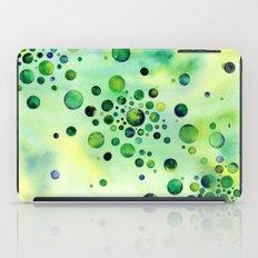 Green Bubbles iPad Case