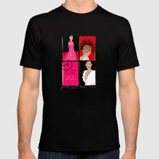 #theSliceSerie: Punk at MET Black SMALL Mens Fitted Tee