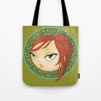 Ms Peacock Tote Bag