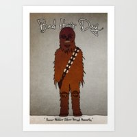 Bad Hair Day No:3 / Chew… Art Print